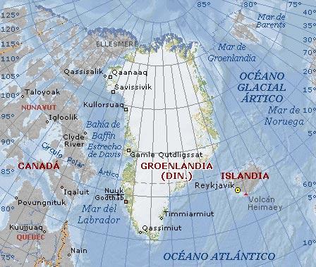 Información general sobre Groenlandia