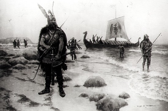 Quién descubrió Groenlandia