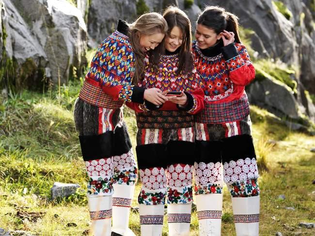 ¿Cómo son las mujeres en Groenlandia?