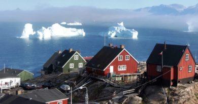 ¿Por qué en Groenlandia hay poco habitantes?
