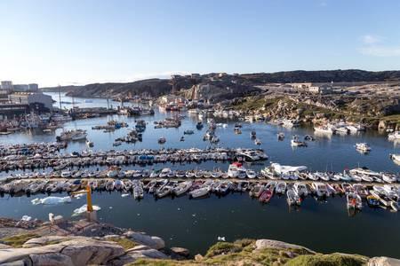 Puertos de Groenlandia